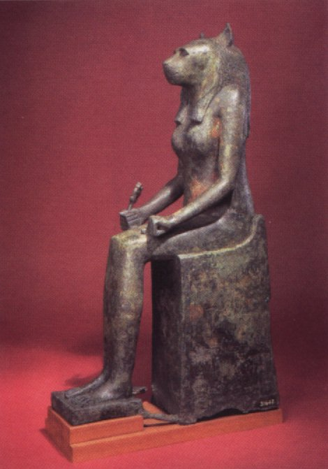 Bastet Ancient Egyptian Cat Goddess